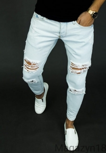 Spodnie 9002 jeans light blue