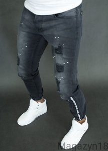 Joggery jeansowe 2402c antra jeans