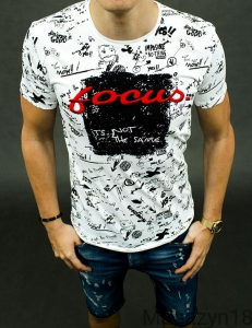 T-shirt focus1 white