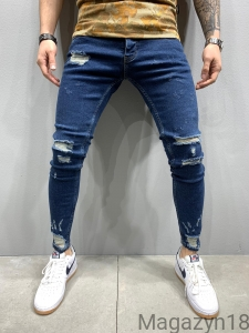 NEW Jeansy 5230 blue