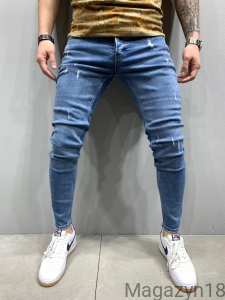 NEW Jeansy 1056 blue