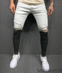 New jeans 5618 black-white premium