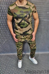 T-shirt 1065 Athletic Moro Camuflage
