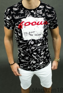 T-shirt focus2 black