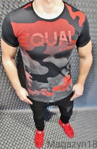 T-shirt 548 Breezy Equael red-black
